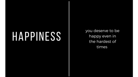 Happiness is a choice you make.