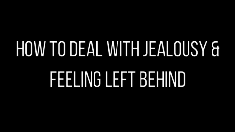 Cosmopolitan Column on Feeling Jealous