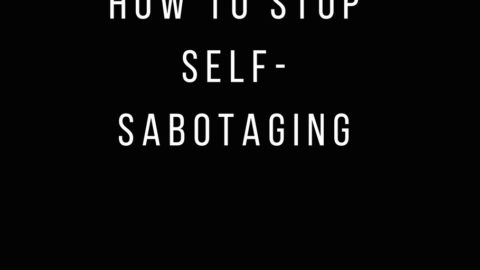 Cosmopolitan Mag Column on How to Stop Self-Sabotaging your Success