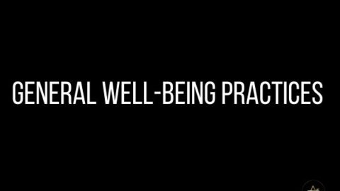 General Well-Being Practices